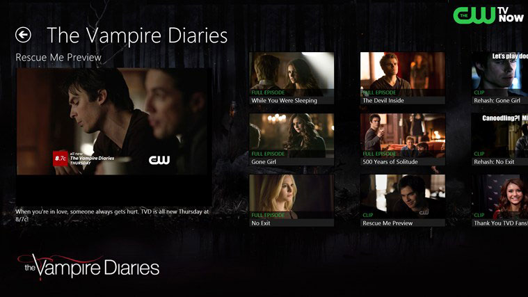 watch the cw outside us with zoogvpn