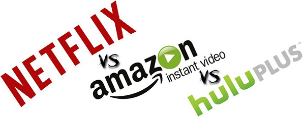Netflix vs. Hulu Plus vs. Amazon Prime