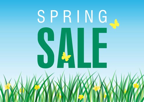 spring sale 90% off