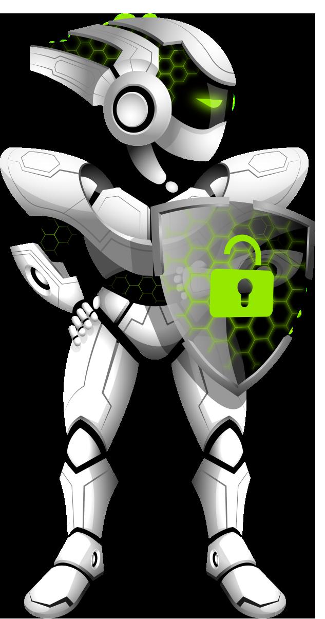 ZoogVPN logo robot
