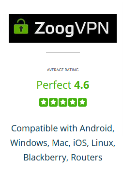 Zoog VPN review by Best VPN Rating