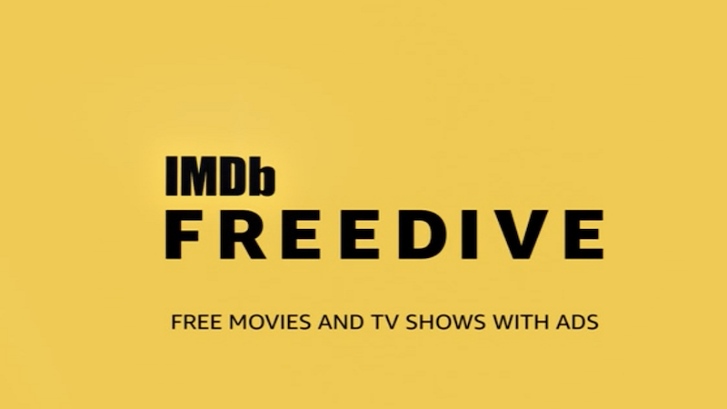 IMDb Freedive - free streaming services in the USA