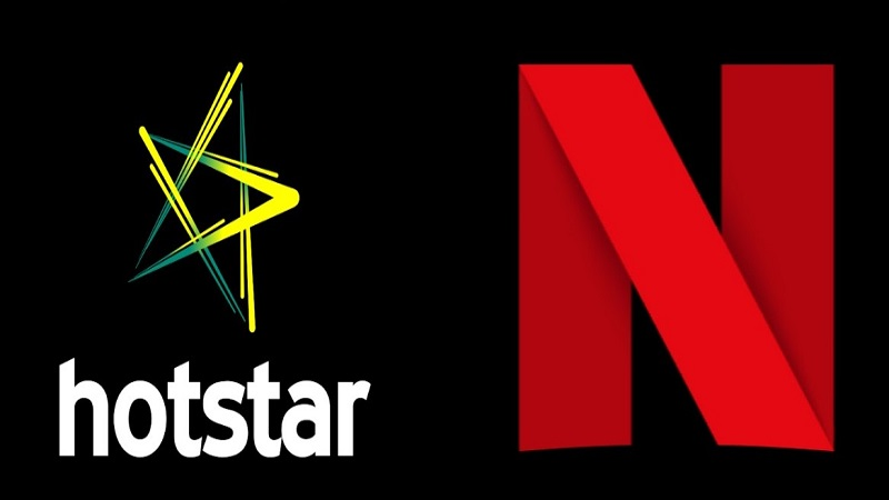 Hotstar India and Netflix India