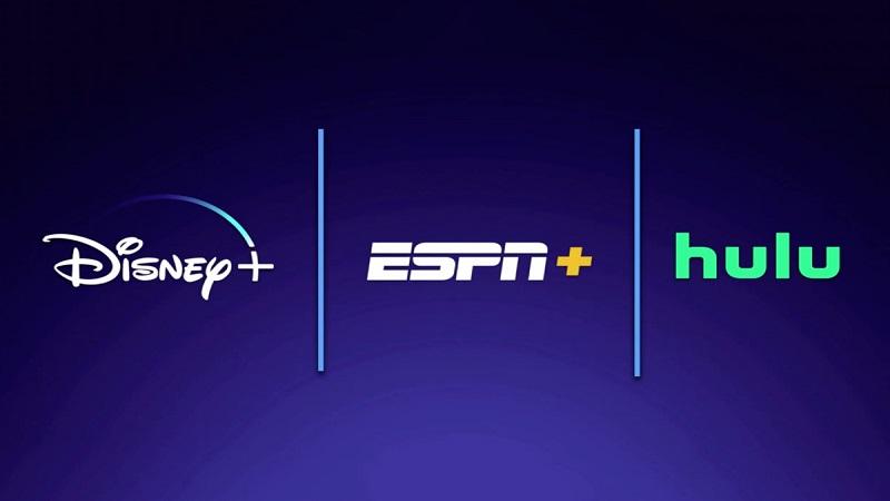 Disney Plus, Hulu, ESPN+